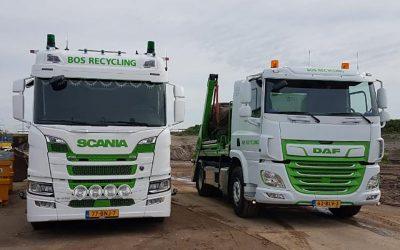 Bos Recycling actief bij Ringweg Zuid